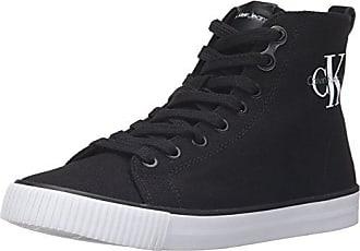 Calvin Klein Gabri Nappa, Sneakers Basses Femme, (Blk 000), 38 EU