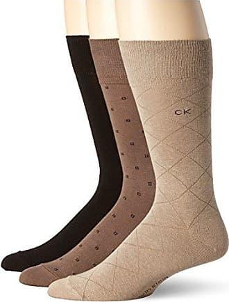 Socks for Men On Sale, 2 Pack, Grey, polyamide, 2017, M (39 - 42) L (43 - 46) Calvin Klein