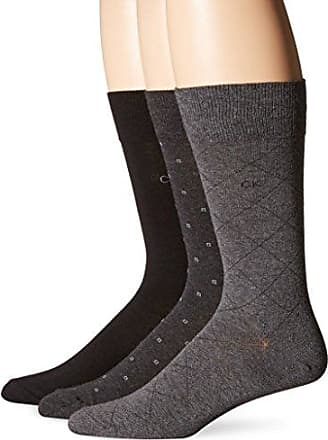 Socks for Men On Sale, 2 Pack, Black, polyamide, 2017, M (39 - 42) L (43 - 46) Calvin Klein