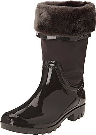 Peggy Metal Shearling, Bottes Femme, Multicolore (Anthracite), 40 EUCalvin Klein