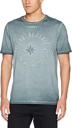 Roundneck 1/2, T-Shirt Homme, Gris (Graphite Den 38), MCamel Active