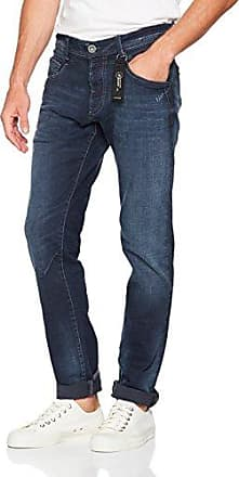 Jeans Droit - Homme - Bleu (authentic dark used) - W36/L34Cross Jeanswear