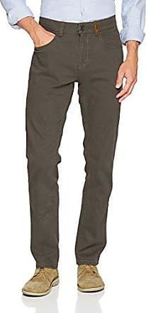 3867, Pantalones para Hombre, Grün (Khaki 34), W32/L32 Camel Active