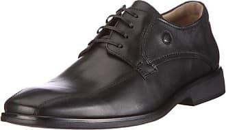 Camel Active Como 12 - Zapato Brogue de Cuero Hombre, Color Negro, Talla 40.5