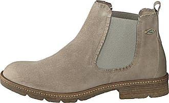 camel active Damen Aged 75 Chelsea Boots, Beige (Desert), 39 EU