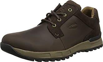camel active Evolution 21 138.21.03 - Zapatos de cuero nobuck para hombre, Grau (Dk.Grey), 41