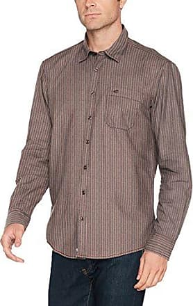 Dan Kent 1/1, Camisa Casual para Hombre, Multicolor (Petrol Cor 53), 46(Talla del Fabricante: X-Large) Camel Active