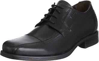 Camel Active Boavista 11, Zapatos de Cordones Derby para Hombre, Negro (Black 02), 47 EU