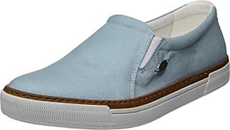 Camel Active Racket 74, Zapatos de Cordones Oxford para Mujer, Azul (Aqua), 40 EU