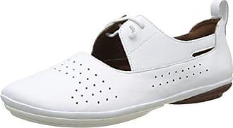 Camper Hoops, Zapatillas para Mujer, Blanco (White Natural 100), 36 EU