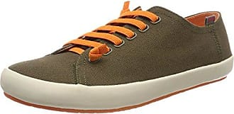 Camper Pelotas XL, Zapatos de Cordones Oxford para Hombre, Verde (Dark Green 300), 45 EU