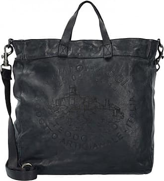 Campomaggi Boldo Shopper Sac Fourre-tout cuir 33 cm nero