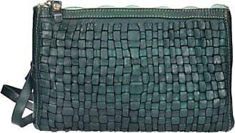 Florence Umhängetasche Leder 28 cm verde Campomaggi