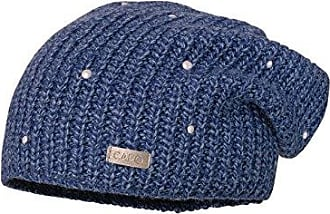 Womens Pearls Cap Beanie, Blue (Marine 18), One Size Capo