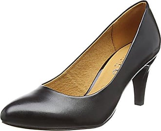 Womens 22409 Closed-Toe Pumps, Grau (Lt Grey W.N.C. 258) Caprice