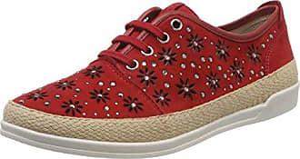 Caprice 23605, Zapatillas para Mujer, Dorado (Gld Met Comb 927), 41 EU
