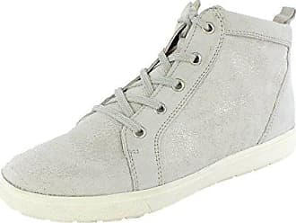 Damen Sport Lauf Runners Sneakers Stoff Schuhe 135279 Hellgrau Avion 38 Flandell