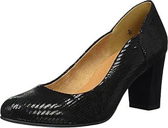 22305, Escarpins Femme, Noir (Black Comb 19), 38 EUCaprice