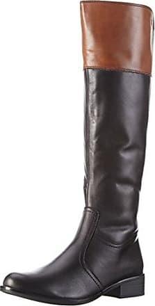 SEBAGO Plaza Tall Boot, Bottes Cavalières Femme, (Cognac Leather), 37 EU
