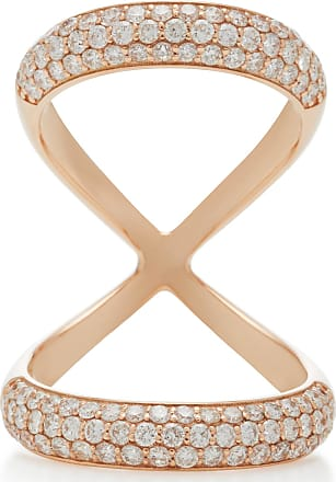Carbon & Hyde Carbon & Hyde Woman 14-karat Rose Gold Diamond Ring Rose Gold Size 6
