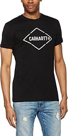 L/S Hand Script Pique Polo, T-Shirt para Hombre, Negro (Black/White), L Carhartt Work in Progress