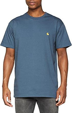 S/S Chase, Camiseta para Hombre, Bianco (White/Gold), Medium Carhartt Work in Progress