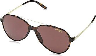 Carrera 134/S W6 086, Gafas de Sol Unisex-Adulto, Marrón (Dark Havana/Burgundy Pz Ar), 51