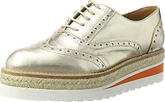 info for 0cf66 9cbb7 Semler Nelly Zapatos de Cordones Brogue para Mujer Gris ChromSilber 901 36  1 3 EU redus9   eu40   uk7   cn41 GGX  Zapatos de mujerTacón RobustoConfort  ...