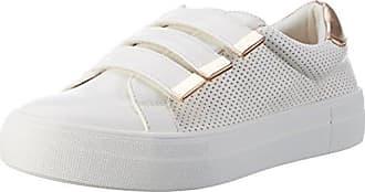 Lennie NP, Zapatillas de Estar por Casa para Mujer, Blanco (White 10), 36 EU Carvela