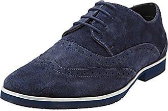 s.Oliver 23623, Zapatos de Cordones Oxford para Mujer, Azul (Navy Comb.), 37 EU