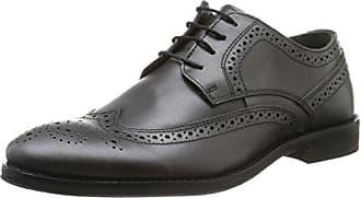 Casanova Landrys - Zapatos de Cordones de Cuero para Hombre Negro Negro 41