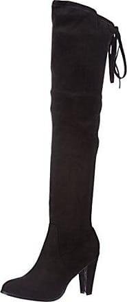 Cassis Cote DAZUR Helene, Botas Plisadas para Mujer, Noir (Noir), 40 EU Cassis côte d'azur