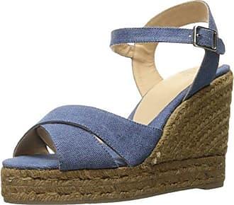 Carina8Ss18002, Alpargatas para Mujer, Azul (Jeans 308), 40 EU Castaner