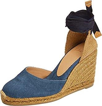New Carol/8/FW17012, Alpargatas para Mujer, Azul (Azul), 38 EU Castaner