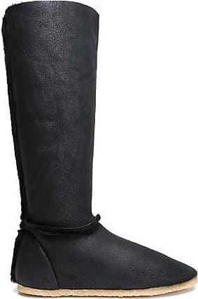Casta?er Woman Shearling Boots Black Size 37 Castaner