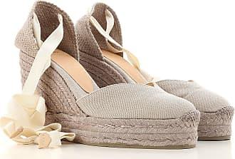 Sandalias de Mujer Baratos en Rebajas Outlet, Cieno, Gamuza, 2017, 36 Car Shoe