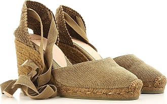 Castañer Xanthium-Tweed - Zapatos para Mujer, Color Tweed, Talla 37