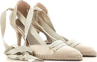 Ballerinas für Damen, Ballerina, Schuhe, Ballerinaschuhe Günstig im Sale, Manolo Blahnik, Rot, Gewebe, 2017, 35 36 37 38 Castaner