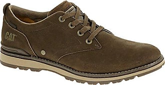 Rayden Herren-Leder-Schuhe-Brown-41 CAT