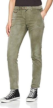 371221 New York SS18, Pantalon Femme, Vert (Smoky Khaki 11094), 42(Taille Fabricant: 29)Cecil