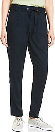Cecil 371381 Victoria, Pantalones para Mujer, Rojo (Deep Loganberry 11343), W32