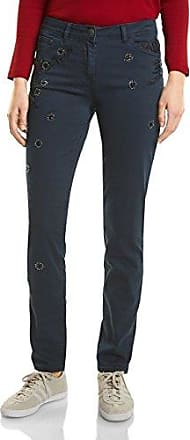 Womens 371388 Chelsea Lyocell Tapered Trousers, Green (Smoky Khaki 11094), W36/L28 Cecil