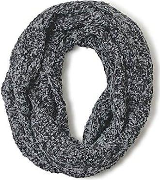 Womens Lurex Infinity Scarf, Grey (Light Grey), One Size (Manufacturer Size: UN) Levi's