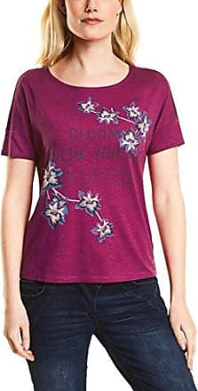 His Doppelpack, Camiseta para Mujer, Rosa (Beetroot Purple 5706), XXL(Pack de 2)