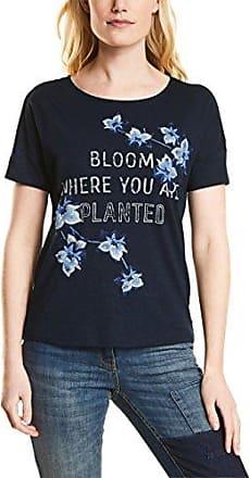 312259, T-Shirt Femme, Bleu (Deep Blue 30128), LCecil