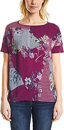 312011, T-Shirt Femme, Multicolore (Galaxy Pink 21368), XSCecil