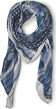 Womens Check and Foil Scarf Trilby Hat Cecil