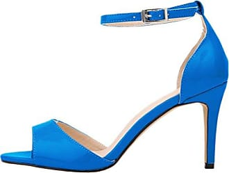 CFP , Damen Peep Toes , blau - himmelblau - Größe: 36