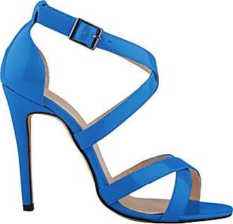 CFP , Damen Peep Toes , blau - himmelblau - Größe: 35