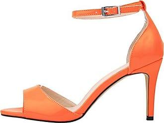 CFP , Damen Knöchel-Riemchen , orange - Orange - Größe: 39 1/3